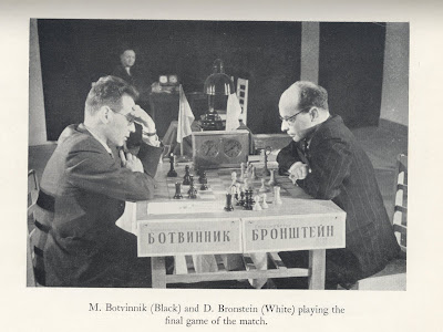 Botvinnik Bronstein World Chess Championship 1951