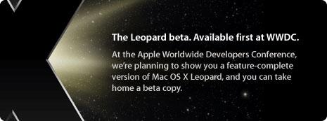 Leopard on WWDC 07