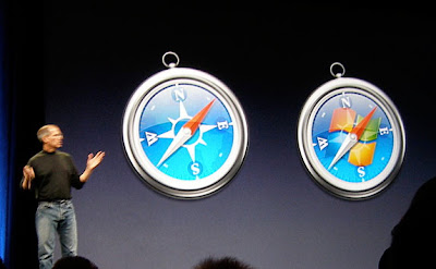 WWDC 2007: Safari Windows
