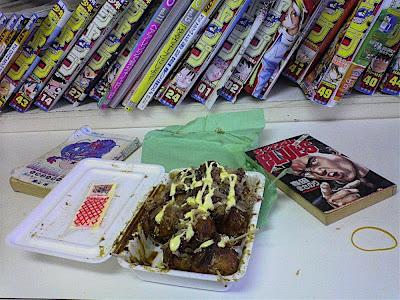 takoyaki + manga
