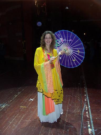 Traje baile chino