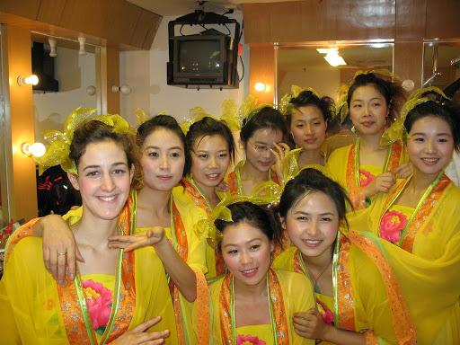 Grupo de danza chino