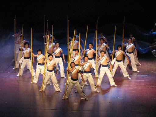 Espectáculo Bambú Chino