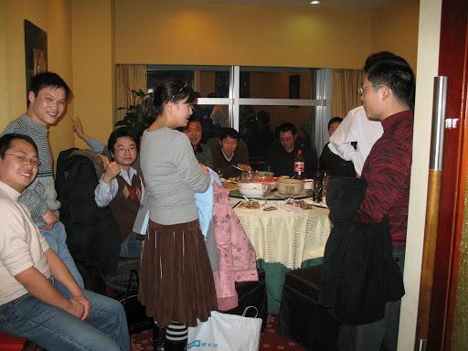 La cena china