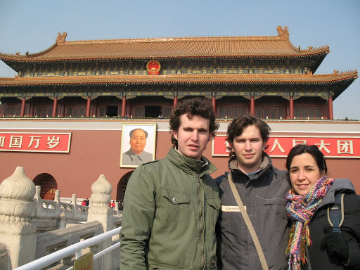 Retrato de Mao en la Ciudad Prohibida
