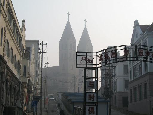 Iglesia Catolica de San Miguel en Qingdao