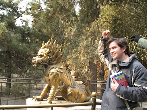 Los pelos del dragón chino