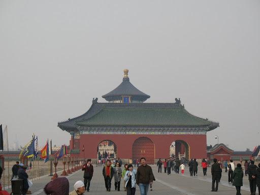 Vista del Templo del Cielo