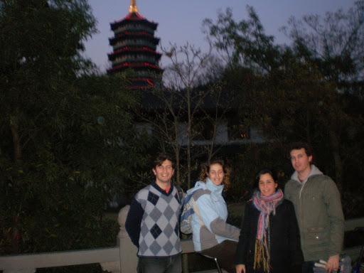 Pagoda reconstruida del Lago del Oeste