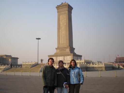 Monumento a los Héroes en Tiananmen