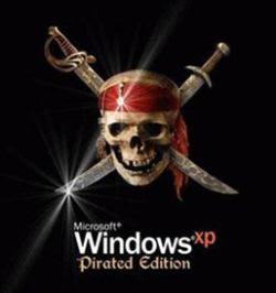 [Kuso]Windows XP Pirated Edition?