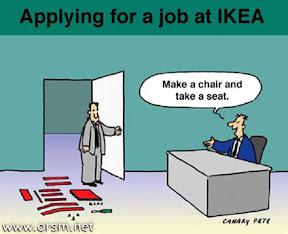 [KUSO]去IKEA面試的第一項考驗…