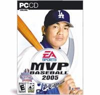 [GAME]EA MVP baseball 2005預定3月發行!封面人物陳金鋒!