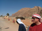Mike Hare enjoying the riches of Wadi Rum