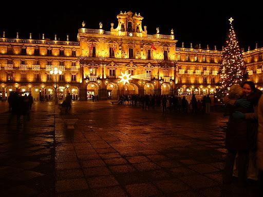 Fotos de Salamanca por la noche