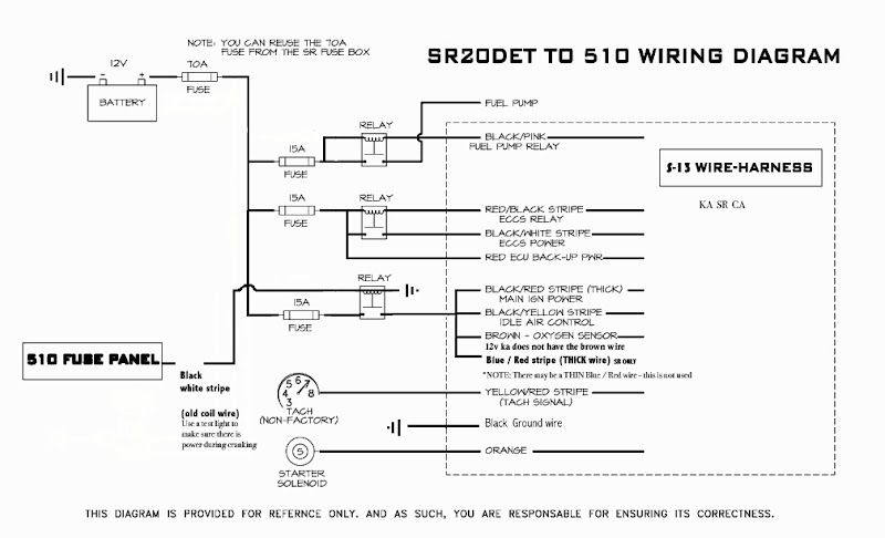 wiring diagram for sr20 for electronic ignition wiring diagram for ih