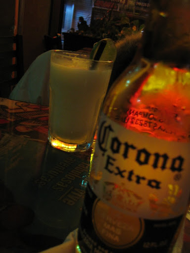 Frozen Margarita + Coronita