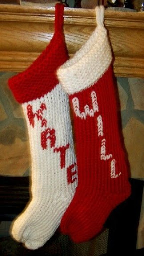 Knitting Loom Christmas Stocking Pattern : Loom Lore: December 2006