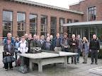 Group at Europa-Brugge hostel