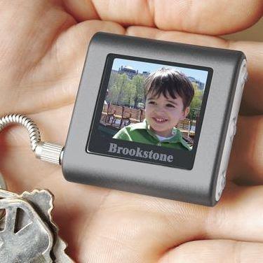 フォトブラウジングキーホルダー「Digital Photo Keychain」