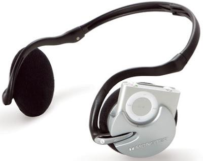 iFreePlay 2G iPod shuffle用「コードレス」ヘッドホン」