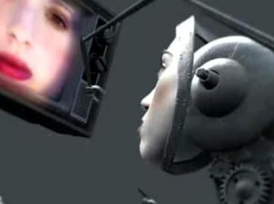 クリエイティブな人造人間CG「Doll Face」