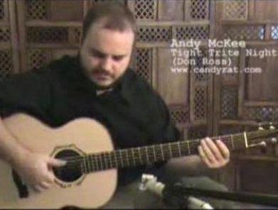 タッピングギタリスト「Andy Mckee」の新作PV