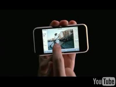次世代携帯「iPhone」のCM
