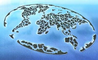 ドバイの巨大アイランド建造計画「The World」