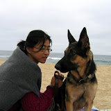 Anita at Montara Beach - Labor Day Weekend