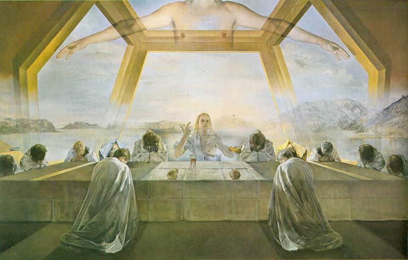Salvador Dalí, the last supper