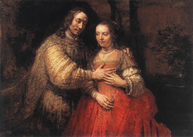 rembrandt, t joodse bruidje
