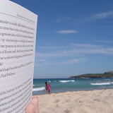 Reading on Maroubra Beach
