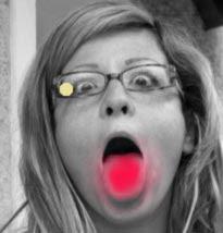 Die Brille mit dem goldenen Punkt
