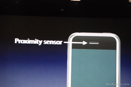 Sensores de proximidade no iPhone