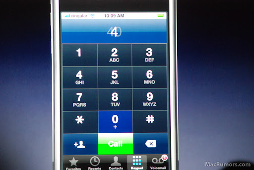 Controle do Telefone - iPhone