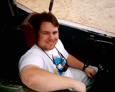Yours truly living a bit of a dream, sitting in the cockpit of an SR-71 Blackbird, serial number 61-9795