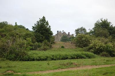 Abbey school from battlefield