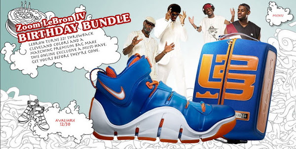 Nike Zoom LeBron IV Birthday Update