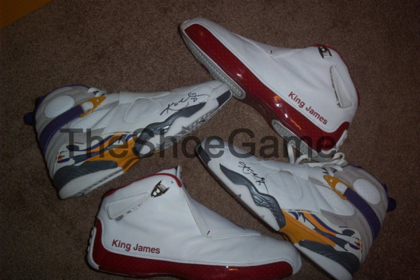 LeBron James8217 Air Jordan XVIII PE