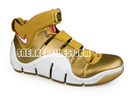 LeBron 8216King8217 James 2007 NBA AllStar Shoes