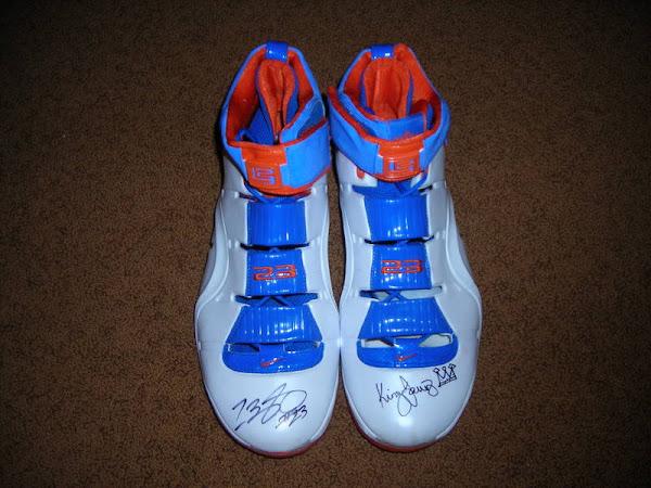 James8217 Nike Zoom LeBron IV Hardwood Classic PE