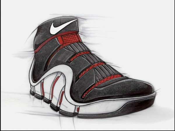 135404c67a44 Nike Zoom LeBron IV design ...
