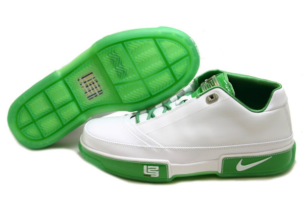 picked up various design excellent quality Nike Zoom LeBron Low ST white/grass showcase | NIKE LEBRON ...