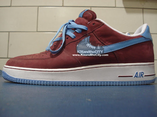 Nike Air Force 1 LeBron sample