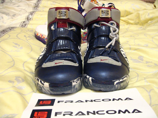 Zoom LeBron IV AllStar Player Exclusive