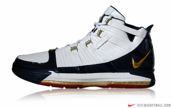King James8217 2006 Playoffs shoe arsenal