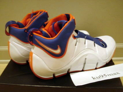 Nike Zoom LeBron IV HWC Home PE wo 23