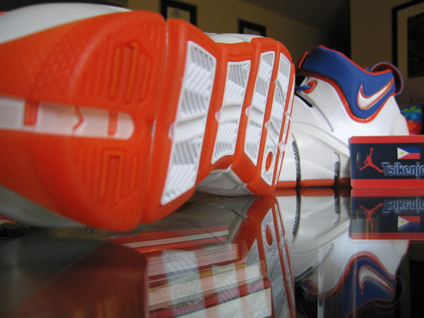 Nike Zoom LeBron IV HWC Home PE