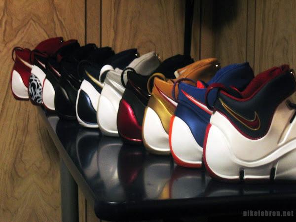 Nike LeBron IV collection